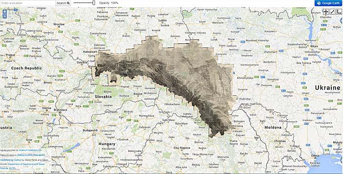 Bilshivtsi Bolszowce Ukraine Maps