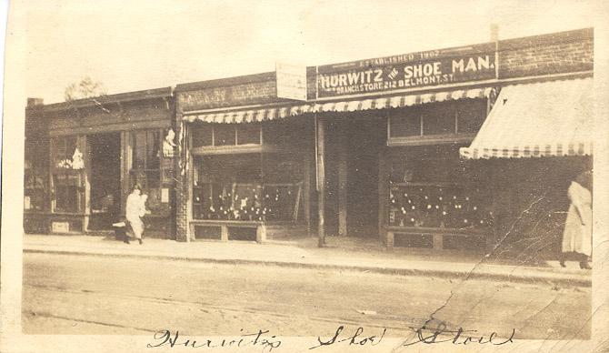 Main Street Brockton, MA Postcard