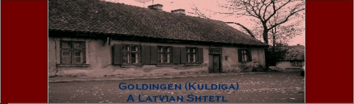 ShtetLinks Page -- KULDIGA, LATVIA