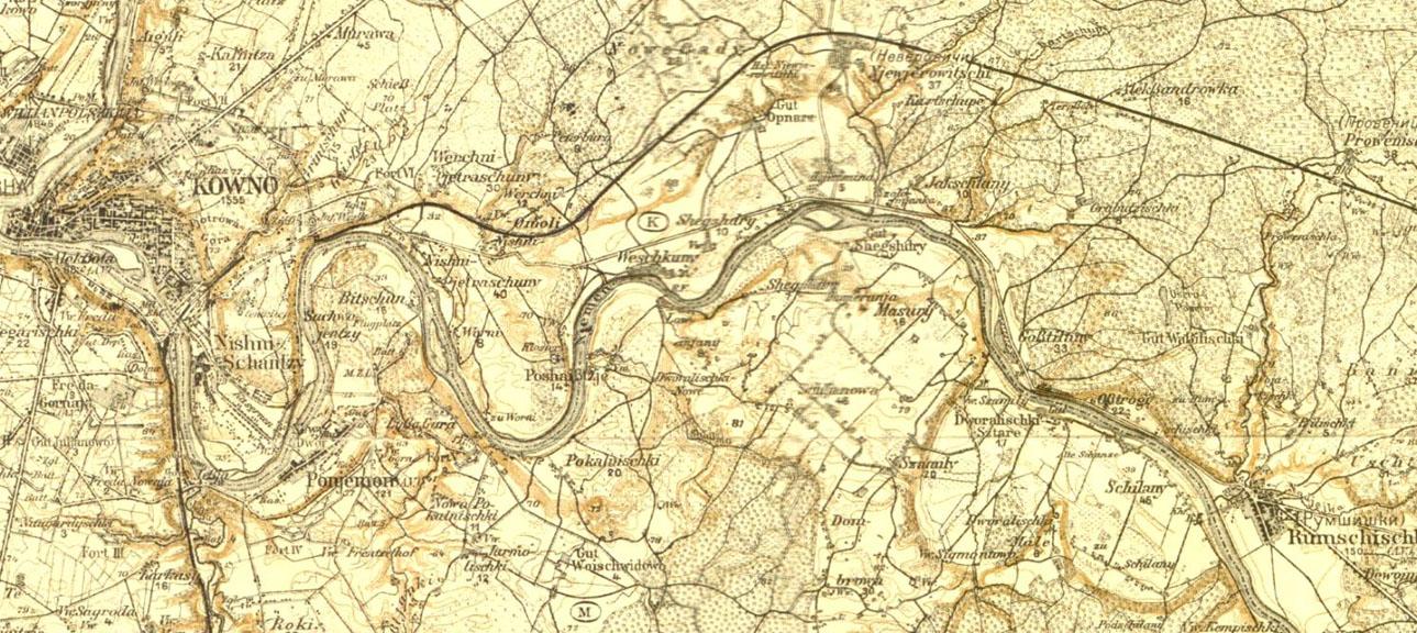Rumsiskes Web Page - Kaunas map