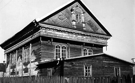 Synagogue in prienai mariampole district