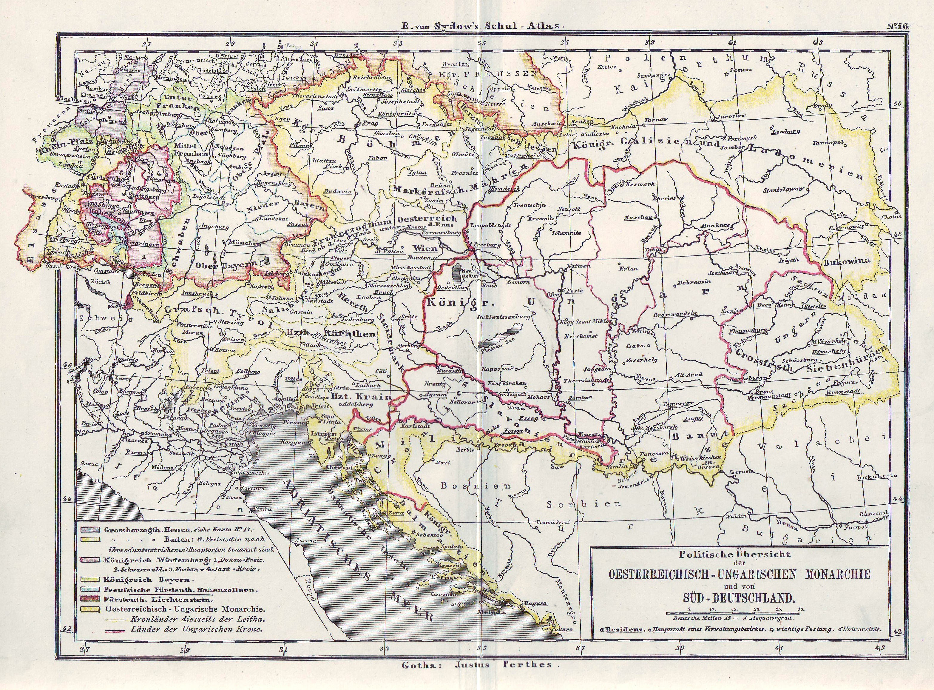 Austria Online Maps Geographical Political Road Railway - Austria physical map