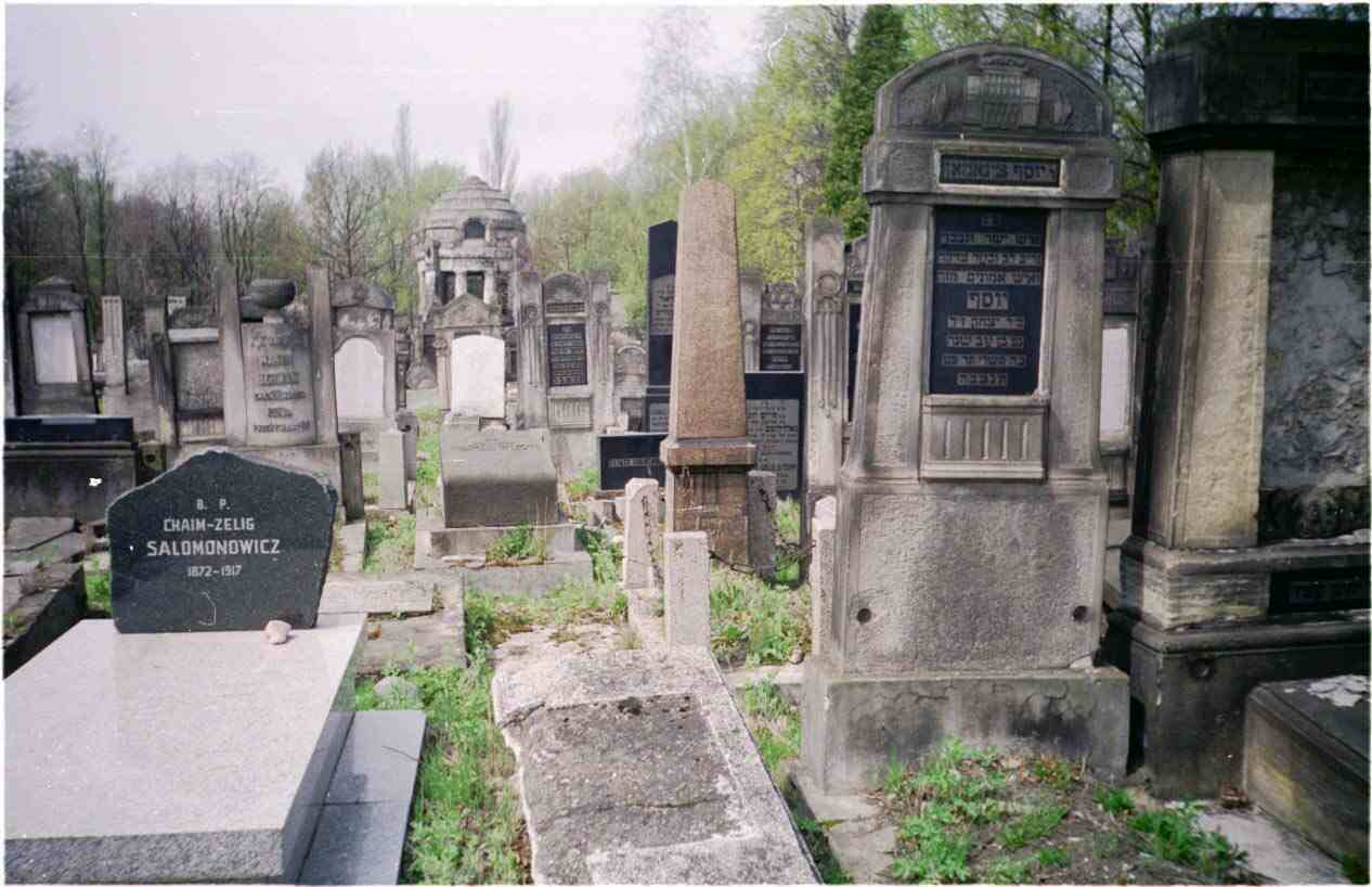 A Virtual Tour Of Jewish Lodz Tombstones In The Lodz Cemetery