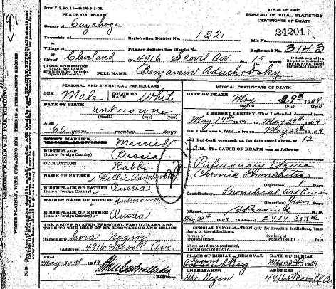 death certificates4, lechovicher death certificates from multiple ...