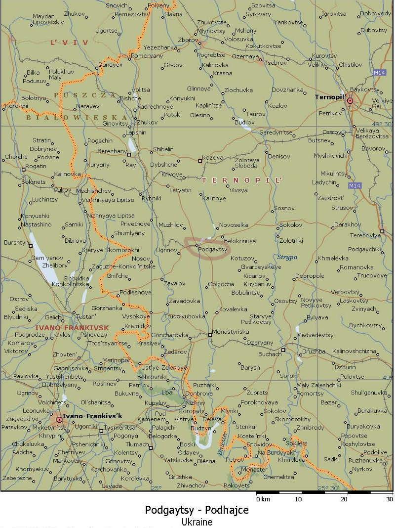 Newpodhace - Location map ust