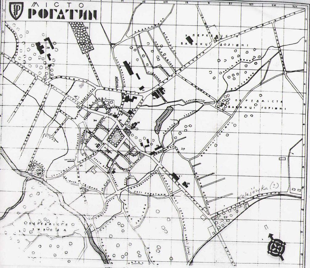 1943 map