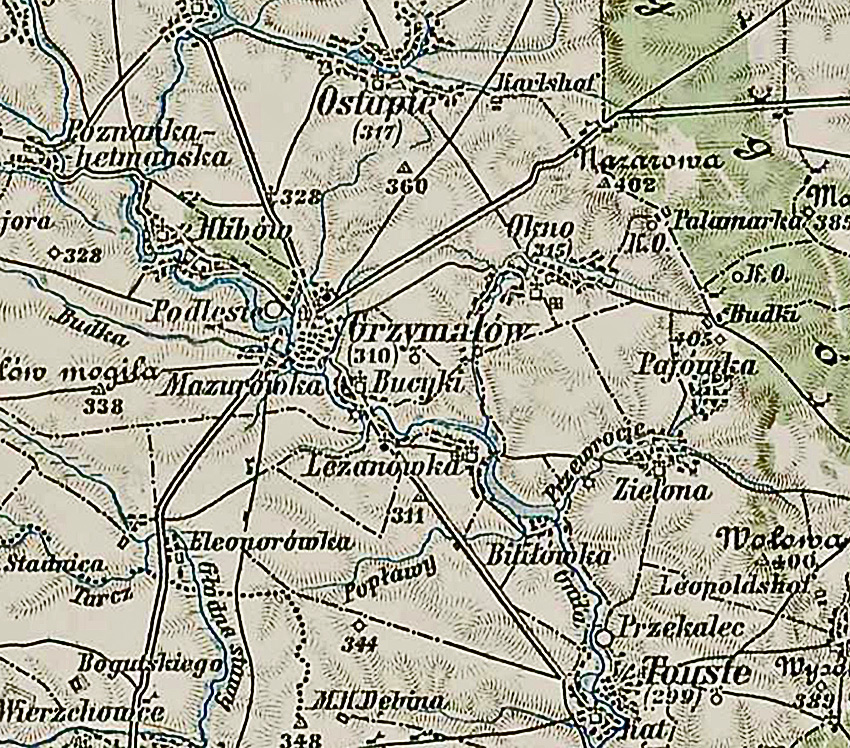 3rd Military Mapping Survey Of Austria Hungary