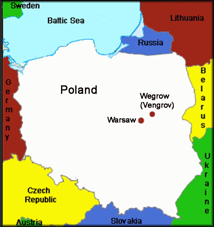 Capital Of Poland Map.Location