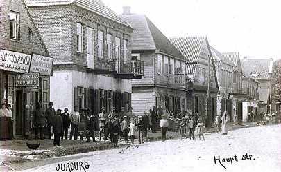 Haupt Street in Yurburg
