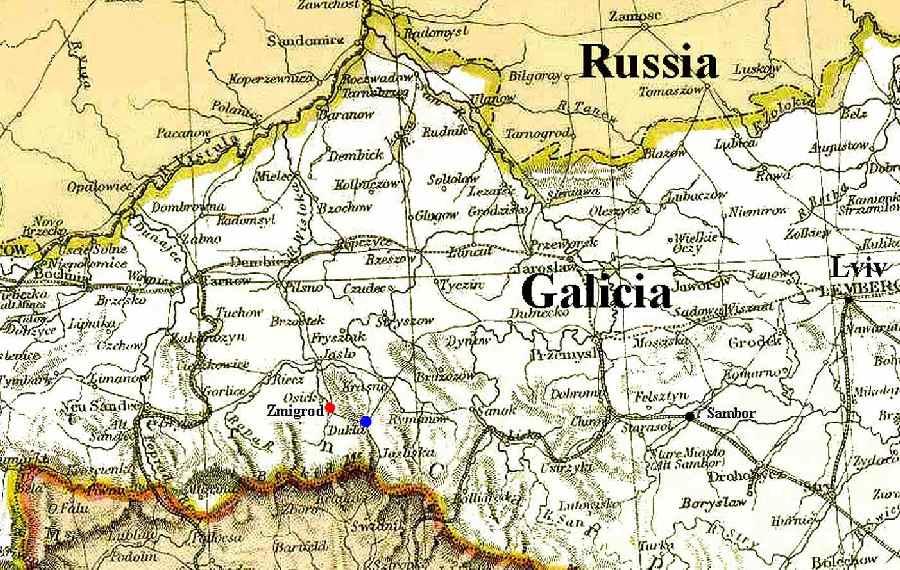 Dukla A Shtetl In Galicia Now Poland
